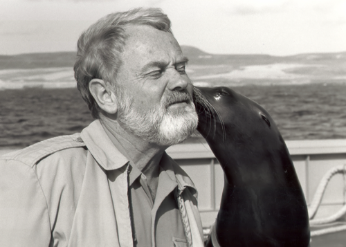 This picture isn't really on topic, but sea lion kisses, while smelly and wet, are the best.