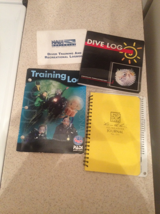 my little piece of diving history.