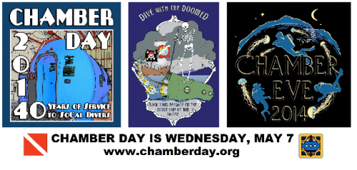 Ads for this year's Chamber Day and Chamber Eve